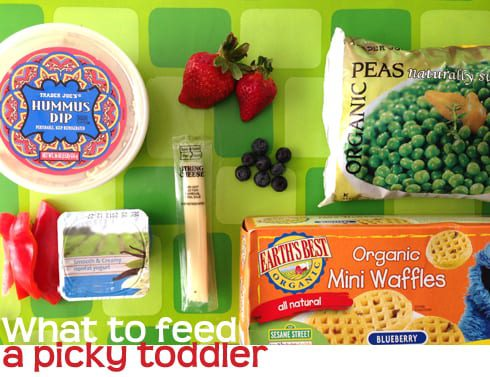 Foods to offer your picky toddler