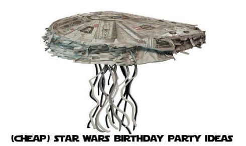 Cheap Star Wars Birthday Party ideas from rookiemoms